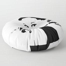 Audrey Hepburn Floor Pillow