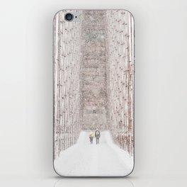 Brooklyn Bridge Snow iPhone Skin