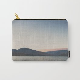 sunset over the lake ... Carry-All Pouch