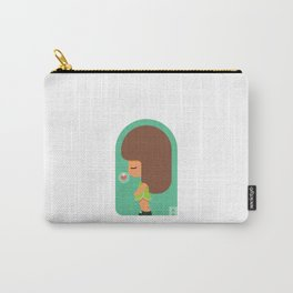 Little Girl 01 Carry-All Pouch
