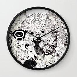 Skool Daze ii Wall Clock