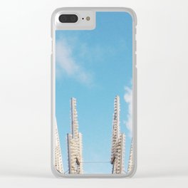 Bolt Out of the Blue Clear iPhone Case
