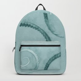Octopus Tentacles Teal Backpack