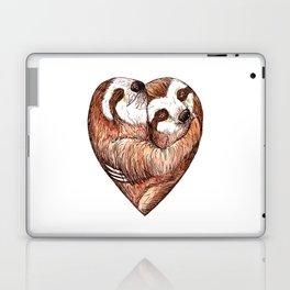 sloth love Laptop & iPad Skin
