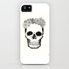 Calavera en Recuerdo iPhone Case