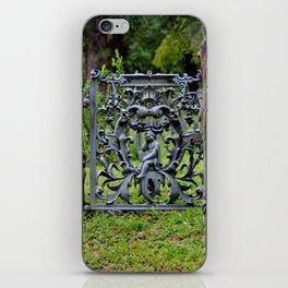 Lovely Cemetery Gate iPhone Skin