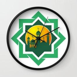 Symbol of Muslim Wall Clock