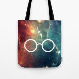 Lightning Scar Nebula HP Tote Bag