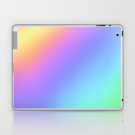 Holographic Foil Multi Colored Pattern Colorful Gradient Abstract Rainbow Laptop & iPad Skin