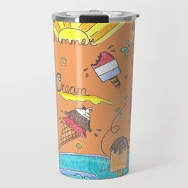 Summer Ice Creams and Popsicles Travel Mug