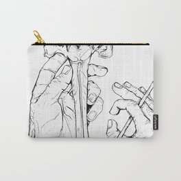 Holding Skeletons Carry-All Pouch