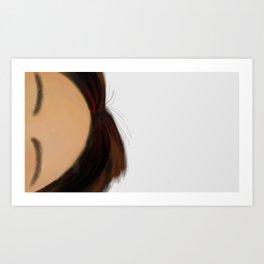 01 Forehead Art Print