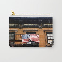 Patriotism of the Liberal Elite, NYC Carry-All Pouch