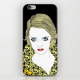 Bette Davis iPhone Skin