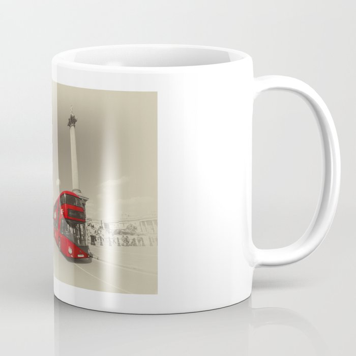 Trafalgar New Bus for London Coffee Mug