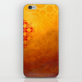 Pattern in a sandstorm iPhone Skin