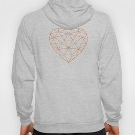 COPPER HEART (WHITE) Hoody