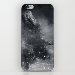 Finrod crossing the Helcaraxe iPhone Skin