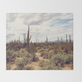 Under Arizona Skies Throw Blanket