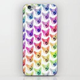 Rainbow Corgis iPhone Skin