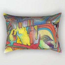 The  Melting Slope Rectangular Pillow