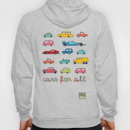 Cars for all Hoody