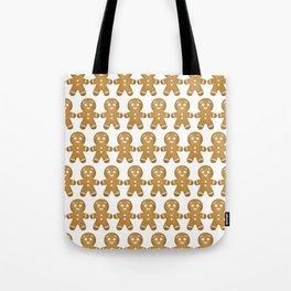 Gingerbread Cookies Pattern Tote Bag