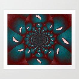 Butterflies Emerging Art Print