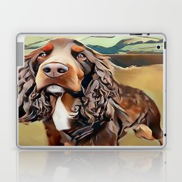 The Field Spaniel Laptop & iPad Skin
