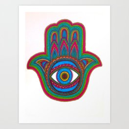 Fátima Art Print