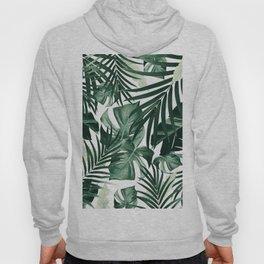 Tropical Jungle Leaves Pattern #4 #tropical #decor #art #society6 Hoody