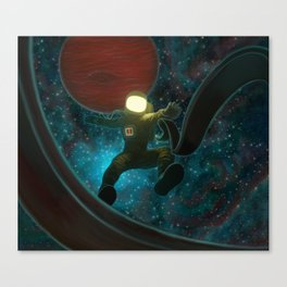 Cosmonaut: Untethered Canvas Print