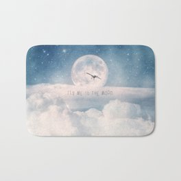 Fly Me to the Moon Bath Mat