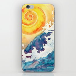 Ocean Wave iPhone Skin