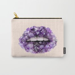 CRYSTAL LIPS Carry-All Pouch