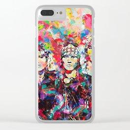 Rock Legend Clear iPhone Case