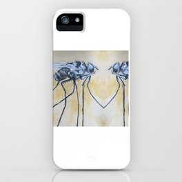Fly On the Mirror iPhone Case
