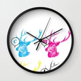 Unnatural Colors Wall Clock