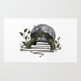 Old turtle warrior Rug