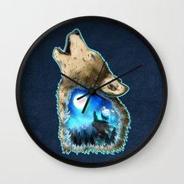 Moon Worshipers Wall Clock