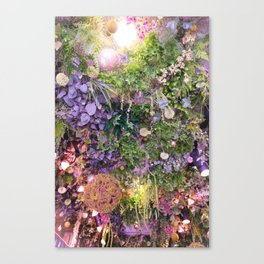 A Florist's Ceiling Garden Canvas Print