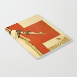 Vintage poster - Red Cross Notebook