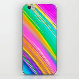 mint saturn iPhone Skin