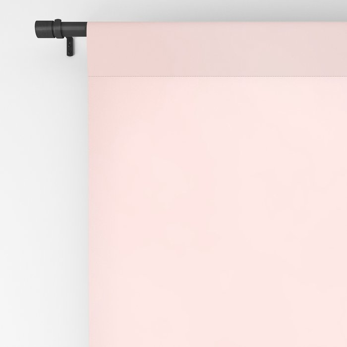 Pink Coral Blackout Curtain