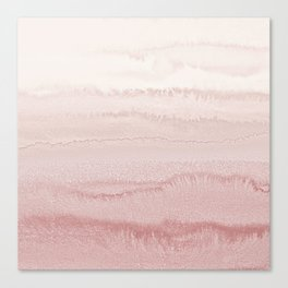 WITHIN THE TIDES - BALLERINA BLUSH Canvas Print