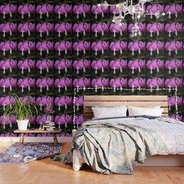 Three bleeding heart flowers Wallpaper