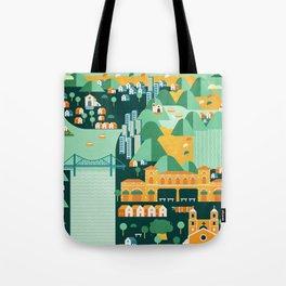 Floripa Brazil Tote Bag