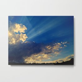 Skylights Metal Print