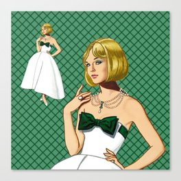 Emerald Canvas Print