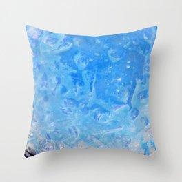 blue lagoon cocktail Throw Pillow